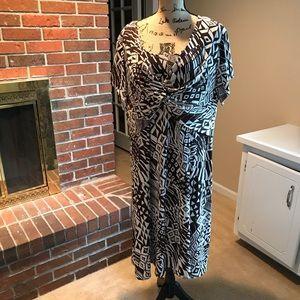 Brown Roman's Dress - Size 1X